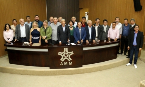Posse da Diretoria da AMM - Biênio 2019/2020