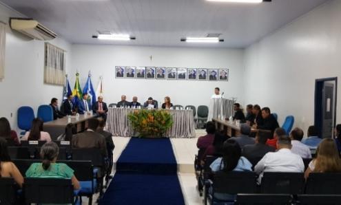 Assume nova mesa diretora da Câmara de Vereadores de Aripuanã