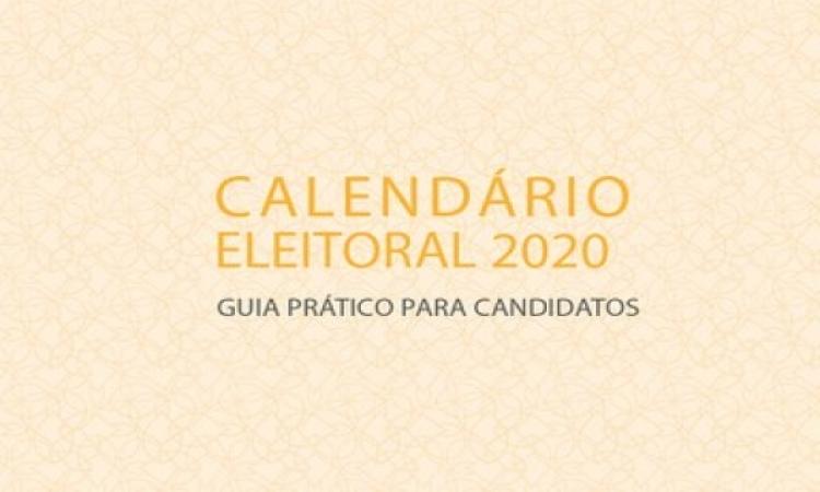 """Ministério Público Eleitoral lança cartilha """"Calendário Eleitoral 2020 – Guia Prático do Candidato"""""""